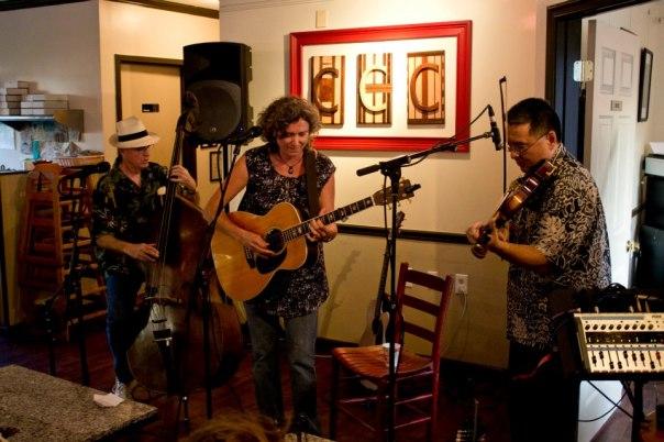 Steve Wolf, Lynn Hollyfield, Dave Abe
